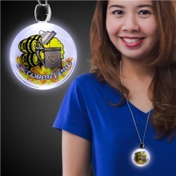 Oktoberfest LED Light-Up Necklace by Windy City Novelties