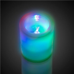 LED Flameless Multi-Color Votive Candle by Windy City Novelties