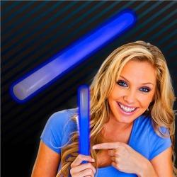 """Blue 10"""" Glow Sticks by Windy City Novelties"""