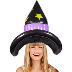 Witch Inflatable Hat by Windy City Novelties