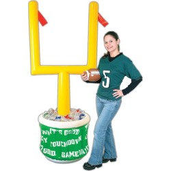 Football Goal Post Inflatable Cooler by Windy City Novelties