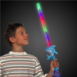 LED Shark Sword with Prism Ball by Windy City Novelties