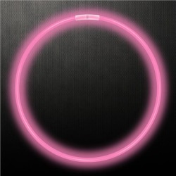"Pink 22"" Glow Necklaces by Windy City Novelties"