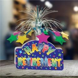 "Happy Retirement 13"" Centerpiece by Windy City Novelties"
