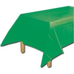 Green Party Table Cover by Windy City Novelties