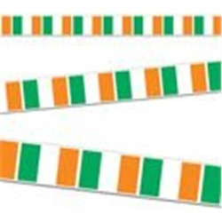 Irish Flag Party Tape by Windy City Novelties