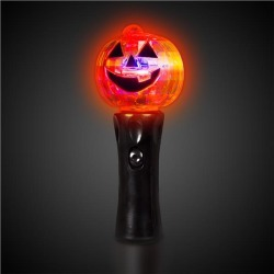 LED Pumpkin Spinner Wand by Windy City Novelties
