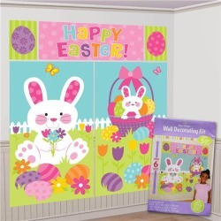 Easter Wall Decorating Kit by Windy City Novelties