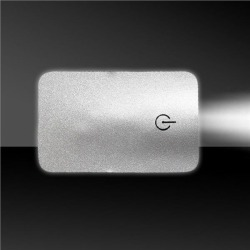Silver Credit Card Pocket Light by Windy City Novelties