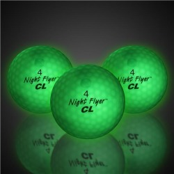 Night Flyer Green Golf Balls by Windy City Novelties found on Bargain Bro India from Windy City Novelties for $26.05