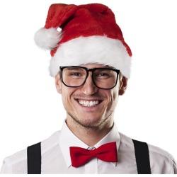 Santa Claus Deluxe Plush Hat by Windy City Novelties