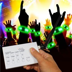 RF LED Concert Bracelets Kit for 20 by Windy City Novelties