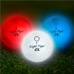 Night Flyer Red, White & Blue Golf Balls by Windy City Novelties found on Bargain Bro India from Windy City Novelties for $26.05