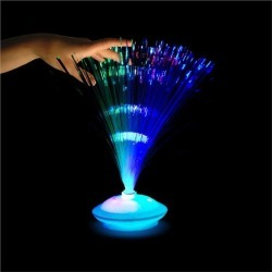 "LED Fiber Optic 12"" Centerpiece by Windy City Novelties"