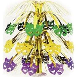 """Mardi Gras Mask 18"""" Centerpiece by Windy City Novelties"""