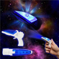 "LED Toy Space 3 1/2"" Gun With Sound by Windy City Novelties"