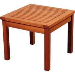 Palmira Eucalyptus Side Table, Brown
