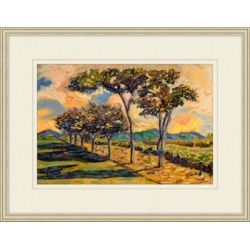 Giclee Scenic Trees Wall Art, Multi found on Bargain Bro India from Ashley Furniture for $128.99