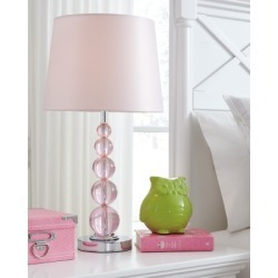 Letty Table Lamp, Pink found on Bargain Bro Philippines from Ashley Furniture for $51.99