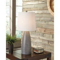 Shavontae Table Lamp (Set of 2), Gray found on Bargain Bro from Ashley Furniture for USD $53.95