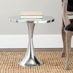 Safavieh Galium Accent Table, Silver found on Bargain Bro from Ashley Furniture for USD $109.43