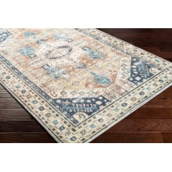 Home Accent Langden 2' x 3' Accent Rug, Blue found on Bargain Bro from Ashley Furniture for USD $32.67