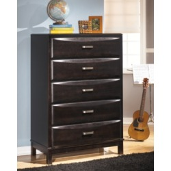 Kira Chest of Drawers, Almost Black