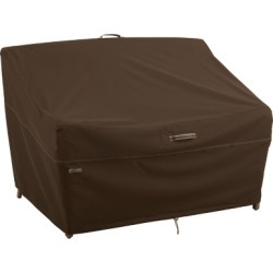 Outdoor Medium Deep Seated Patio Loveseats Furniture Cover, Brown