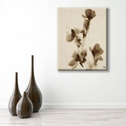 Flowers Alpha 20X24 Canvas Wall Art, Brown found on Bargain Bro India from Ashley Furniture for $119.99