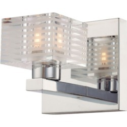 One Light Bath Vanity Fixture, Chrome found on Bargain Bro Philippines from Ashley Furniture for $57.99