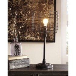Javan Table Lamp, Antique Black found on Bargain Bro Philippines from Ashley Furniture for $58.99