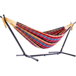 Patio Double Hammock with Stand, Paradise