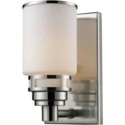 One Light Bath Vanity Fixture, Satin Nickel Finish found on Bargain Bro Philippines from Ashley Furniture for $89.99