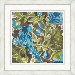 Giclee Flower Patterned Wall Art, Brown/Blue/Green found on Bargain Bro Philippines from Ashley Furniture for $119.99