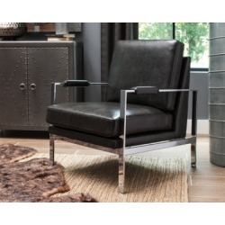 Network Accent Chair, Black