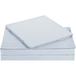 Microfiber Truly Soft King Sheet Set, Silver/Gray found on Bargain Bro Philippines from Ashley Furniture for $32.99
