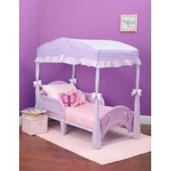 Delta Children Toddler Bed Canopy, Purple