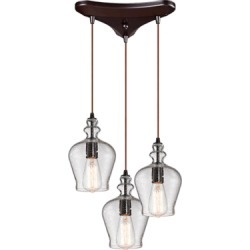 St. Croix Park Pendant, Oil Rubbed Bronze found on Bargain Bro from Ashley Furniture for USD $292.59