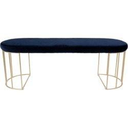 Canary Bench, Blue