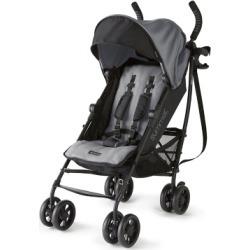 Summer Infant 3Dlite+ Convenience Stroller, Matte Gray, Black