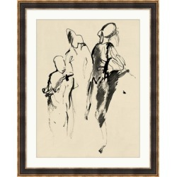 Giclee Abstract Figures 1 Wall Art, Black/White found on Bargain Bro India from Ashley Furniture for $129.99