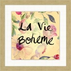 Giclee La Vie Boheme Wall Art, Multi found on Bargain Bro India from Ashley Furniture for $145.99