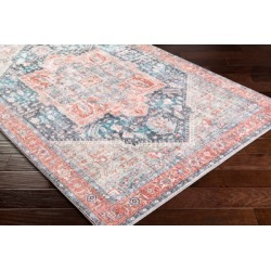 Home Accent Langden 2' x 3' Accent Rug, Red/Burgundy found on Bargain Bro from Ashley Furniture for USD $32.67