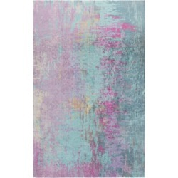 Home Accents Felicity 4' x 6' Area Rug, Blue