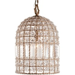 Home Accents Glass Crystal Chandelier, Transparent found on Bargain Bro Philippines from Ashley Furniture for $301.99