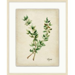 Giclee Kitchen Herb Wall Art, Beige/Green found on Bargain Bro Philippines from Ashley Furniture for $96.99