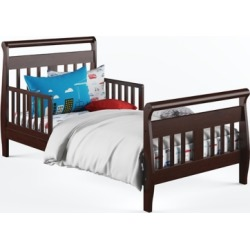 Baby Relax Sleigh Toddler Bed, Brown