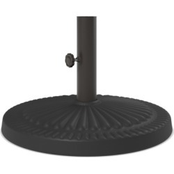 Umbrella Accessories Umbrella Base, Dark Brown found on Bargain Bro India from Ashley Furniture for $50.00