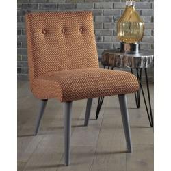 Zittan Accent Chair, Papaya
