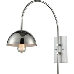 Wall Sconce, Polished Nickel found on Bargain Bro Philippines from Ashley Furniture for $152.99